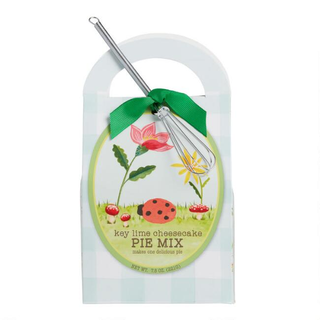 Key Lime Cheesecake Pie Mix with Mini Metal Whisk