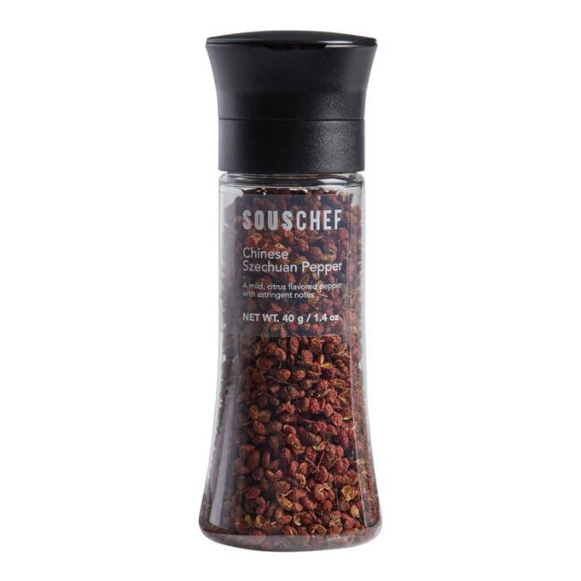 Sous Chef Chinese Szechuan Peppercorns in Grinder