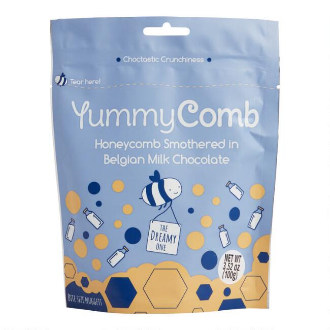 YummyComb Belgian Milk Chocolate and Honeycomb Pieces