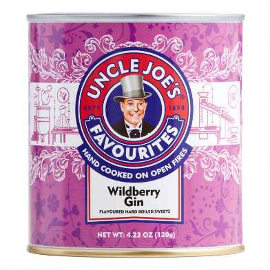 Uncle Joe's Wildberry Gin Hard Candy Tin