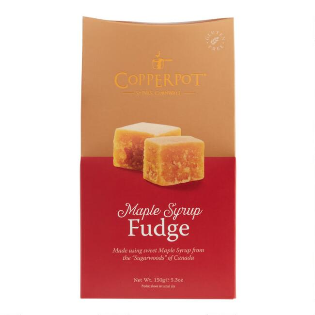 Copperpot Maple Syrup Butter Fudge