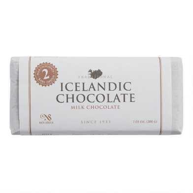 Noi Sirius Icelandic Milk Chocolate Bar 2 Piece