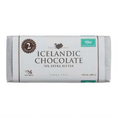 Noi Sirius Icelandic Mint 70% Dark Chocolate Bar 2 Piece
