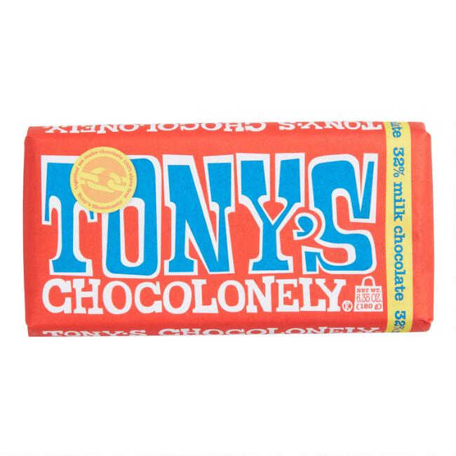 Tonys Chocolonely Milk Chocolate Bar