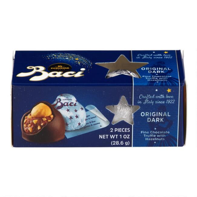 Baci Perugina Dark Chocolates 2 Piece