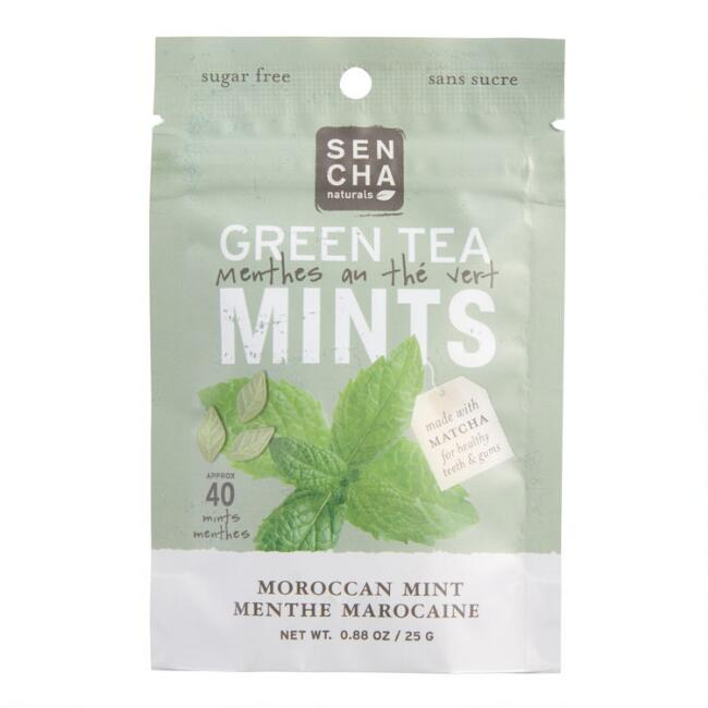Sencha Moroccan Mint Green Tea Mints