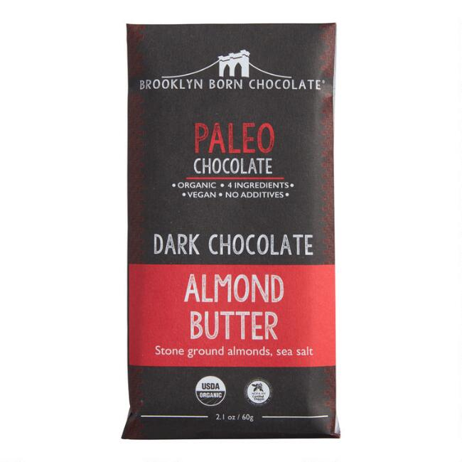 Brooklyn Born Almond Butter Dark Chocolate Bar