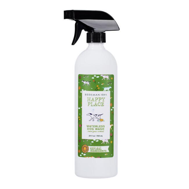 Happy Place Sweet Grass Waterless Botanical Dog Wash