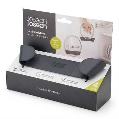 Joseph Joseph CupboardStore Pan Lid Holders 4 Pack