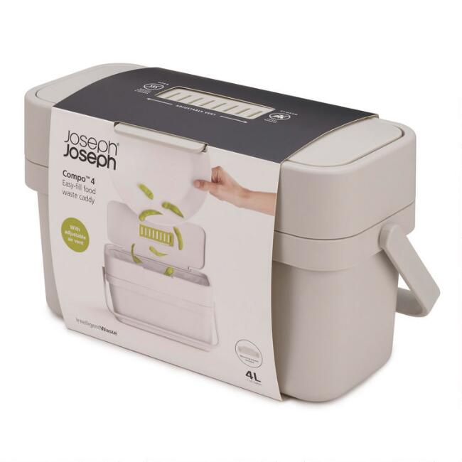 Joseph Joseph Compo 4 Easy Fill Food Waste Caddy