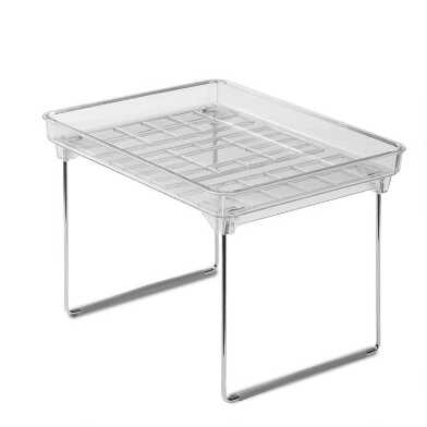 Small Madesmart® Clear Stacking Shelf