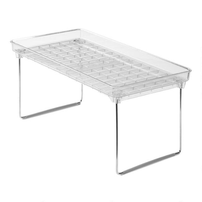 Large Madesmart® Clear Stacking Shelf
