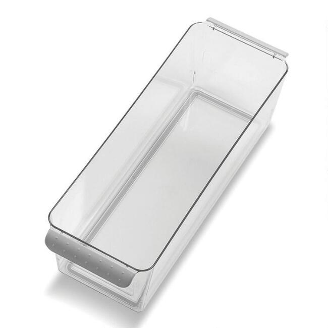 Narrow Madesmart® Clear Deep Storage Bin