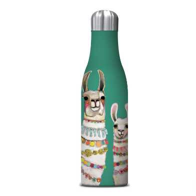 Boho Llamas Duo Insulated Stainless Steel Water Bottle