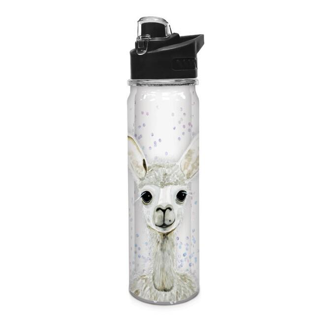 Alpaca Double Wall Tritan Water Bottle