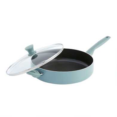5 Quart GreenPan Presidio Nonstick Ceramic Saute Pan and Lid