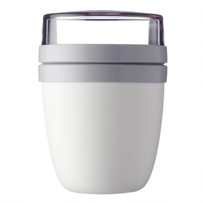 Mepal White Ellipse Lunch Pot