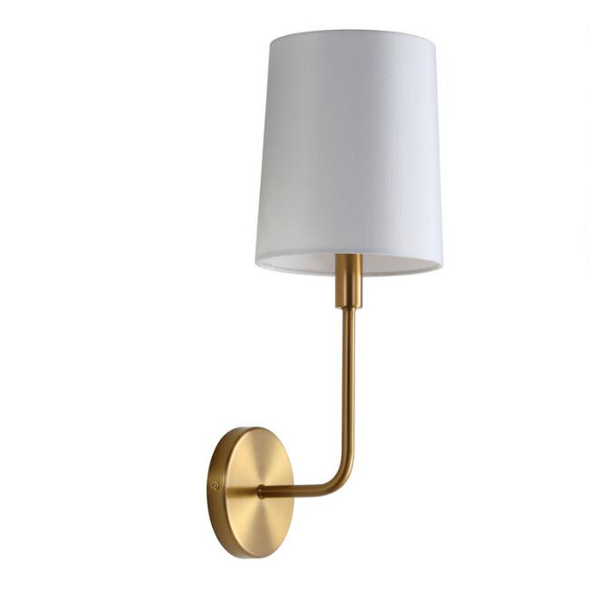Warm Gold Aubrey Wall Sconce