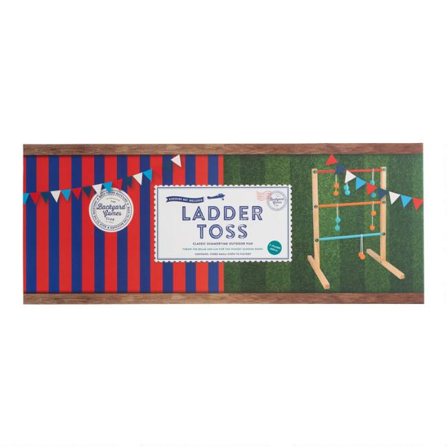 Backyard Games Wood Ladder Toss Set