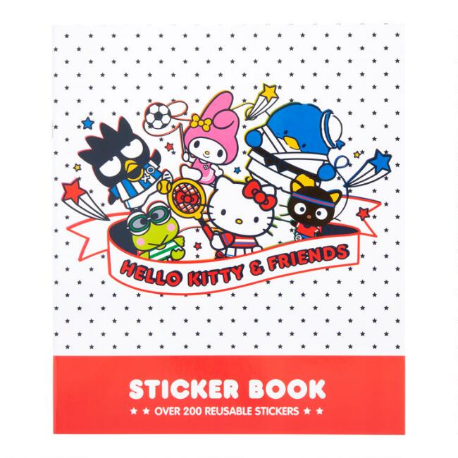 Hello Kitty and Friends Sports Sticker Book