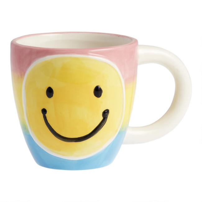 Yellow Happy Face Mug