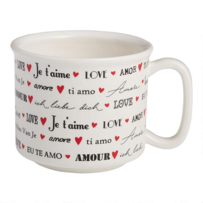 I Love You Languages Mug