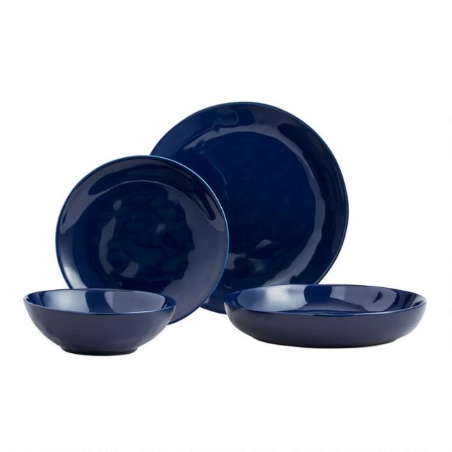 Indigo Element Dinnerware Collection