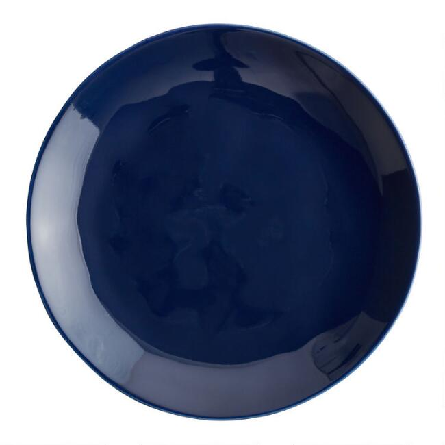 Indigo Element Salad Plates Set of 4