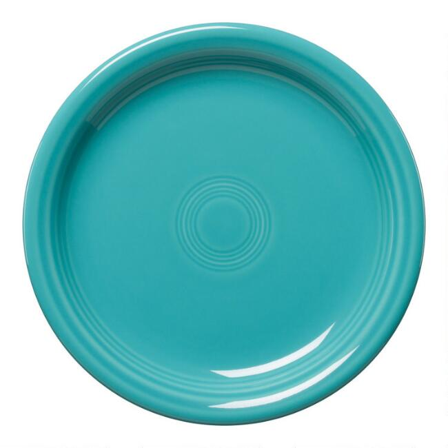 Turquoise Fiesta Bistro Salad Plate