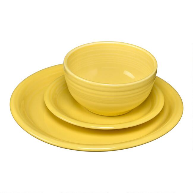 Sunflower Fiesta Bistro Dinnerware Collection