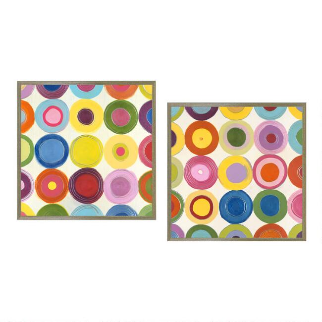 Life is a Beach I & II by Mary Calkins Wall Art Set of 2