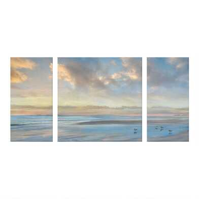 Perfect View I-III By Mike Calascibetta Wall Art 3 Piece