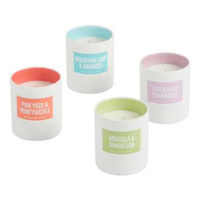 Glossy Filled Jar Candle Collection