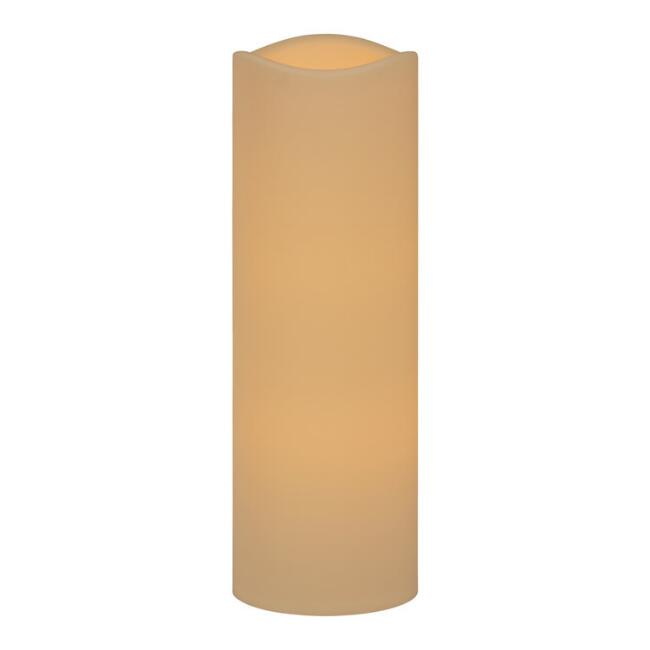 6x18 Ivory Soft Touch Flameless LED Pillar Candle