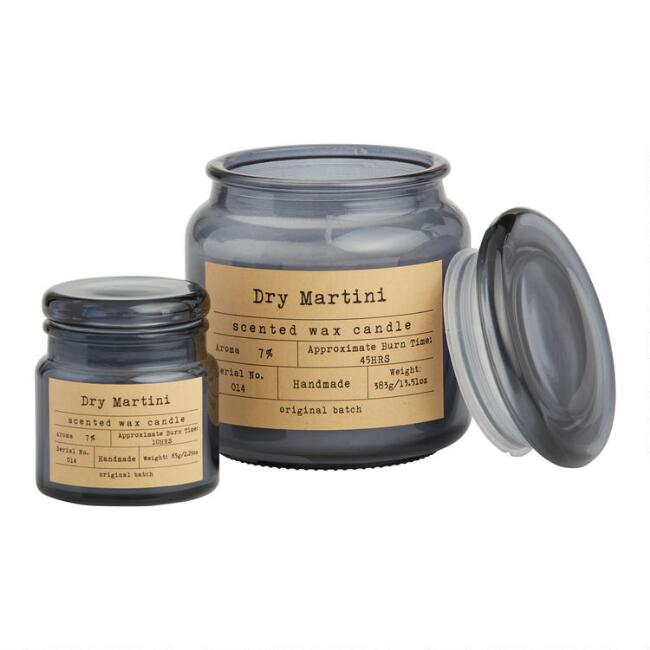 Dry Martini Apothecary Filled Jar Candle