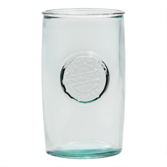 Tall Recycled Spanish Glasses 4 Pack