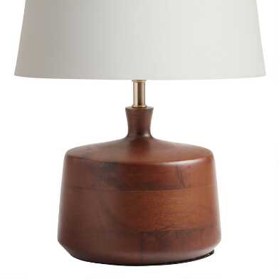 Walnut Wood Taylor Accent Lamp Base