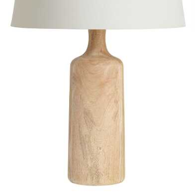 Natural Wood Sierra Table Lamp Base