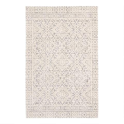 Gray And Ivory Persian Style Charlton Area Rug World Market