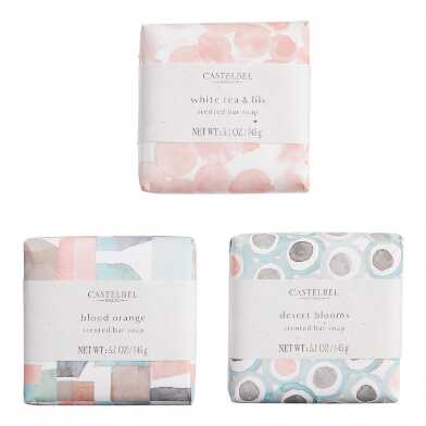 Castelbel Watercolor Geo Bar Soap