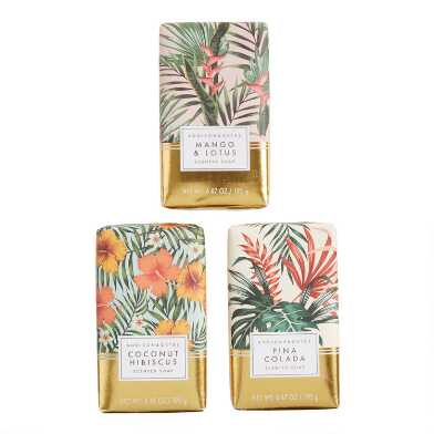 A&G Tropical Gold Bar Soap