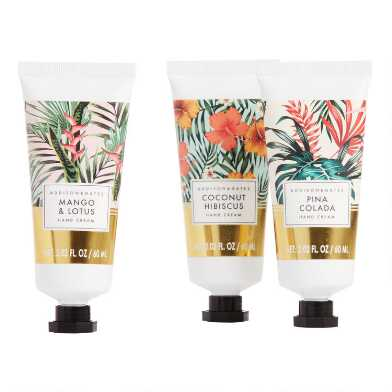 A&G Tropical Gold Hand Cream Set of 2