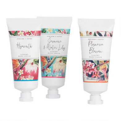 A&G Vibrant Floral Hand Cream Set of 2