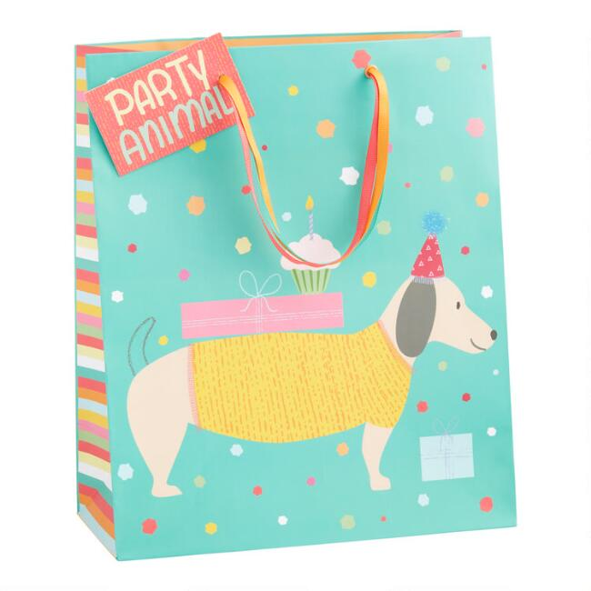 Large Party Animal Gift Bag