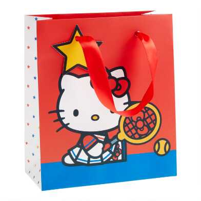 Small Hello Kitty Sports Gift Bag