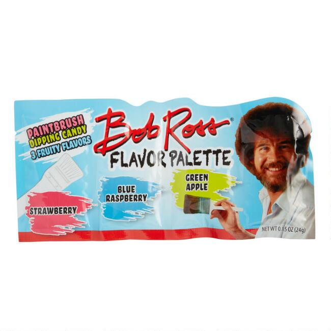 Bob Ross Flavor Palette Paintbrush Dipping Candy