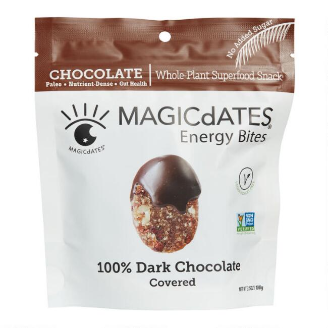 MAGICdATES Dark Chocolate Covered Energy Bites