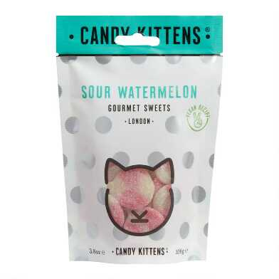 Candy Kittens Sour Watermelon Vegan Gummy Candy