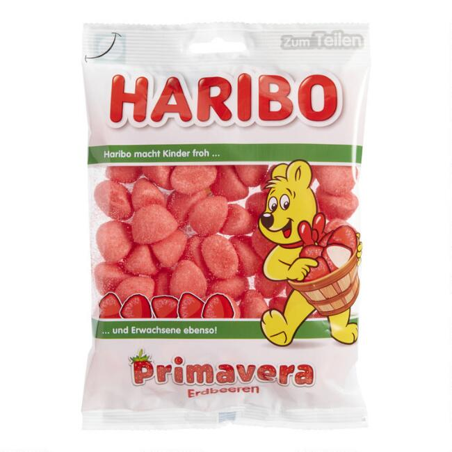 Haribo Primavera Strawberry Gummy Candy