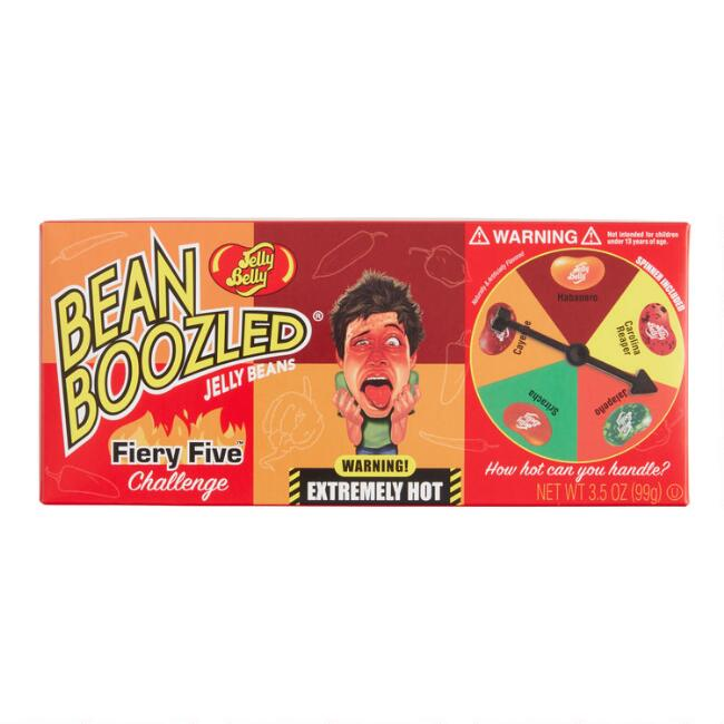 Jelly Belly Fiery Five Challenge BeanBoozled Game
